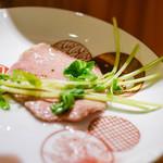東京肉しゃぶ家 - 茹でたん