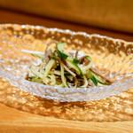 東京肉しゃぶ家 - 酢の物