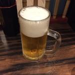 珉珉 - 【毎月23日】生ビール半額 550→275円(税込)