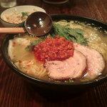 塩らー麺 本丸亭 - 赤丸