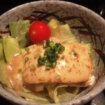 亀山 - 寄せ豆腐サラダ!