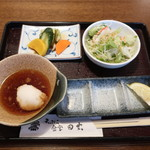 田丸 - 料理写真:昼定食