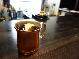 Cafe&Bar UNO - モスコ・ミュール(\580)