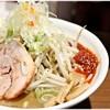 らーめん蓮 - 料理写真:味玉辛味噌らーめん 930円 濃厚かつマイルドな味噌ラーメン!
