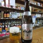 宮原酒店 - こちらでは瓶ビールを