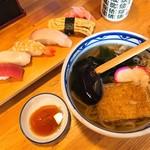 鮮肴屋べにちょう - にぎり寿司セット(860円)
