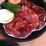 86603389 - 牛定食の肉
