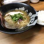 ぼっこ志 - 清麺屋インスパイア(900円)ランチ白ごはんセット(+50円)