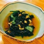 福田屋 - アナゴと胡瓜の酢物