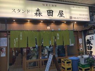 旬菜と海鮮 森田屋 - 昔ながらのアーケードに昔ながらのお店
