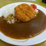 アミカ - 料理写真:ミンチカツカレー¥600-