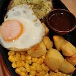 86607794 - 野菜ソースのハンバーグ(ディアボラ風)¥499