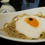 宮の蕎麦 兎屋 - 料理写真:うさぎの月見山かけ(わぁ、可愛いうさぎ)[¥750]