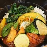 86608054 - 野菜カレー