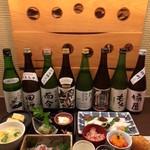 青山 もくち - 日本酒を楽しむコース(1日4名限定)