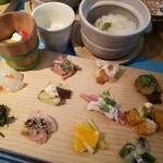 漬け野菜 イソイズム - イソイズムのお昼ご飯