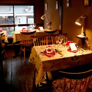 新橋では珍しい一軒家隠れ家レストラン