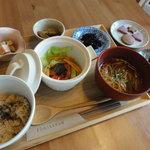 風味花伝 - 料理写真:ある日のマクロビ御前