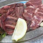焼肉レストラン マルヨシ - ネック、天元豚、ツラミ