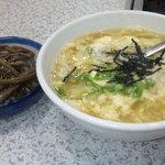 焼肉レストラン マルヨシ - たまごクッパ