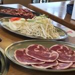 ニューしのつゴルフ場 - 料理写真: