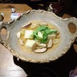 厨 らぱらぱ - 鍋料理みたいな揚げ出し豆腐