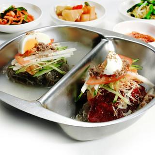 オモニの味を大切に◎さっぱり【冷麺】から本格韓国料理まで充実