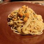 イタリアン アンド ワイン チャコール - うにのペペロンチーノ