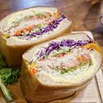 NORTHSHORE - ■スプラウトツナエッグサンドイッチ 1100円