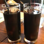 イタリア食堂SORA - ◆アイスコーヒーもタップリ。