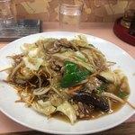 九州中華料理店 - 揚焼そば   小