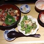 きみまち坂 - 海宝丼 1,200円