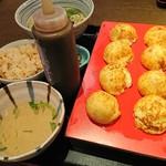 茶房ひまわり - 料理写真:玉子焼ひまわりセット