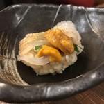 わだのや - イカウニのお寿司