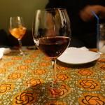 clap - ☆グラスの赤ワイン(*^。^*)☆