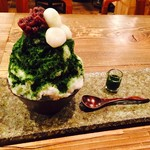 矢野善 - お茶屋さんの抹茶かき氷【夏季限定】