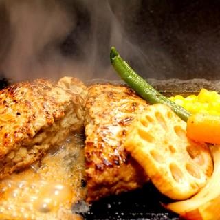 極味やプロデュース「肉汁ハンバーグ」!!