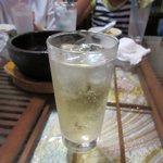 媽媽厨房 - 梅酒ソーダ
