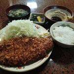 林や - 上ロース定食1320円