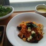 86634991 - 茄子とモッツァレラチーズのトマトソース(乾麺)