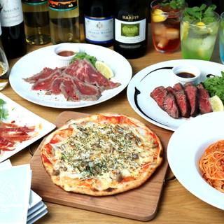 ◆ピザ、アヒージョなど…何度でも食べたくなる絶品バル料理◆