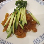 中華レストラン プリンセス - クラゲの冷菜(小皿)