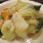中華レストラン プリンセス - 海鮮かたやきそば