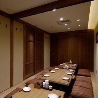 ◆最大30名様用個室をご完備しております!◆