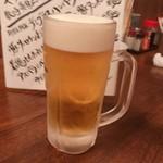 おだいじん - サッポロ黒ラベル生ビール