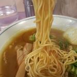 めん処 みやち - 細めのストレート麺