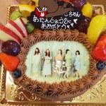 あき房 - 写真ケーキ 6号 チョコ 4980円
