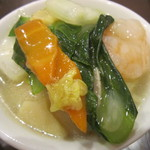 中華レストラン プリンセス - 海鮮そば・取分け