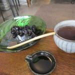 86644953 - 黒豆かんと黒豆茶