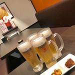 86645361 - ハッピーアワーで生ビール半額¥281とお通し